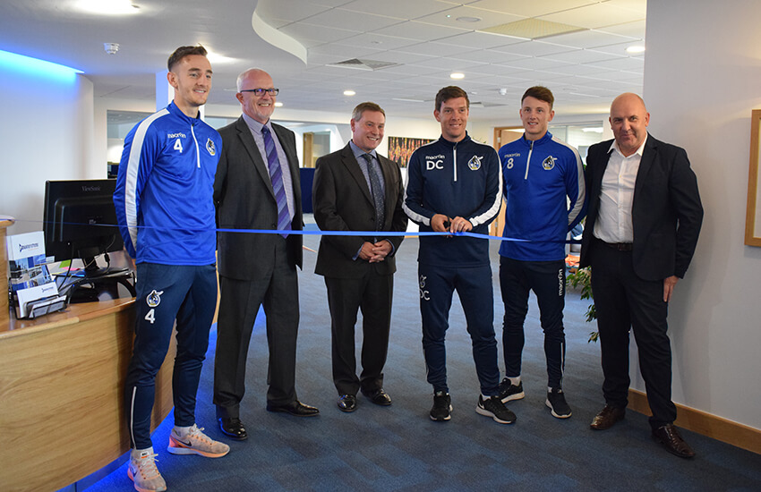 Grand Opening with Bristol Rovers FC