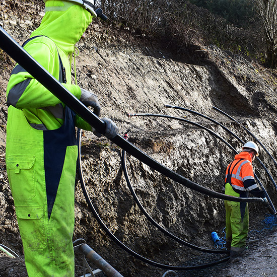 Cable Installation throughout the UK