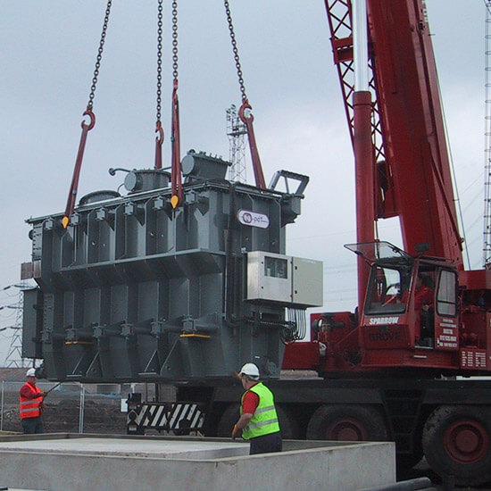 Transformer offload plant procurement