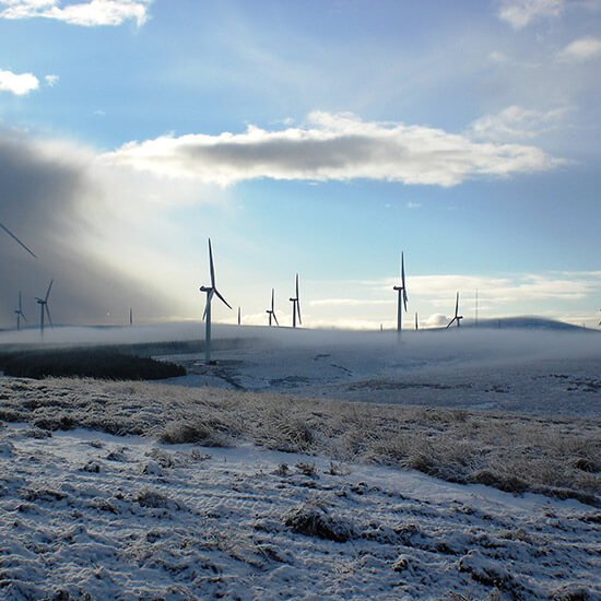 Crystal rig 1 wind farm Maintenance