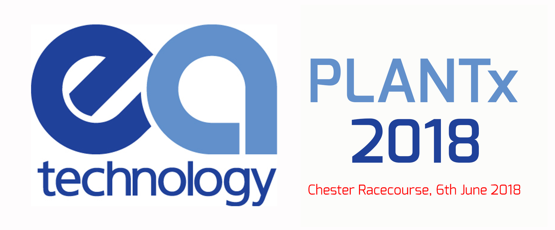 Plantex 2018 logo visit us 6th of June at Chester racecourse