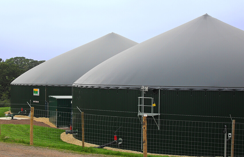 Melbury Dairies AD Plant – one of many generation schemes installed by Powersystems