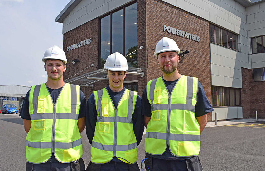 New Apprentices at Powersystems UK