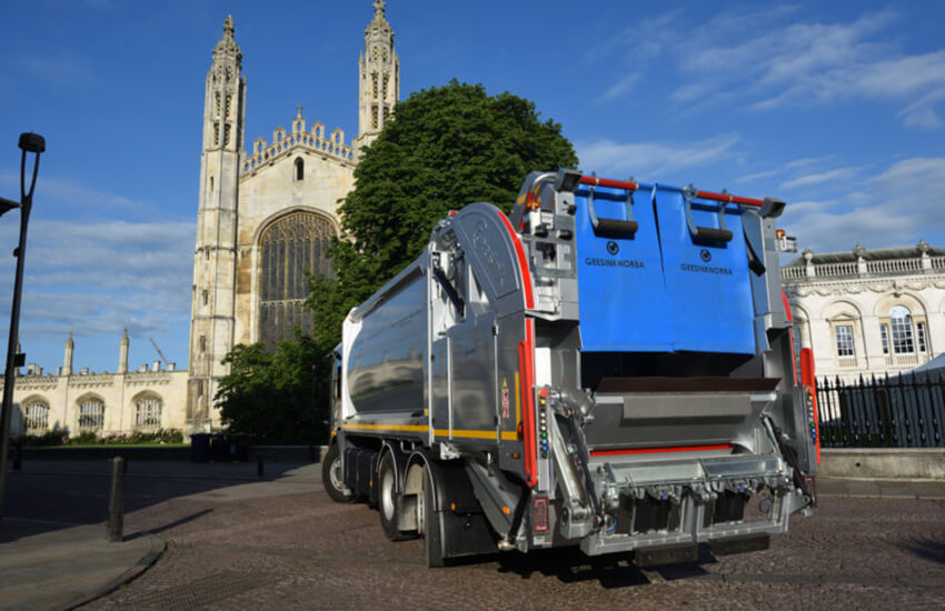 Cambridgeshire councils investigate move to zero-emission fleet