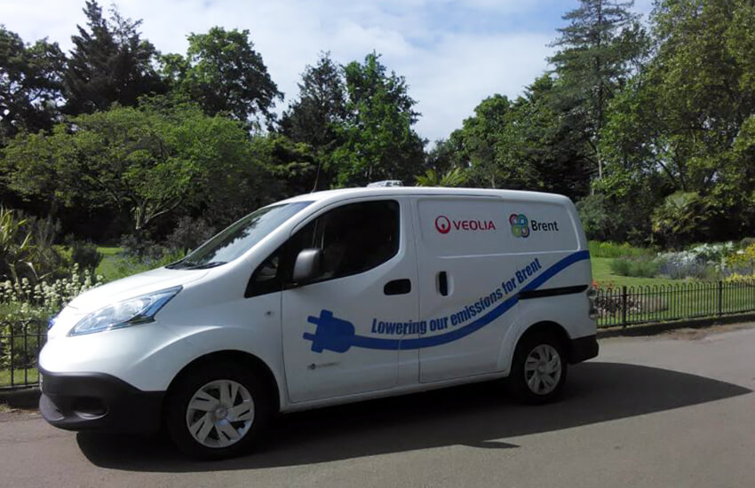 Veolia rolls out electric vans in Brent
