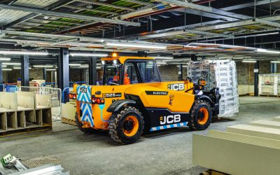 JCB launches Latest Electric Vehicles